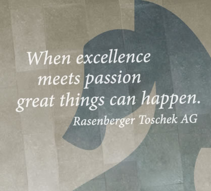When excellence meets passion great things can happen.